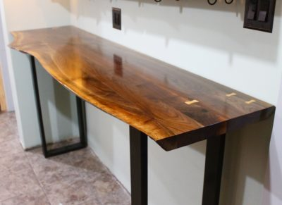 Live Edge Counter Top by Long White Beard Furniture