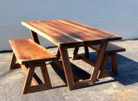 Modern Live Edge Table by Long White Beard Furniture