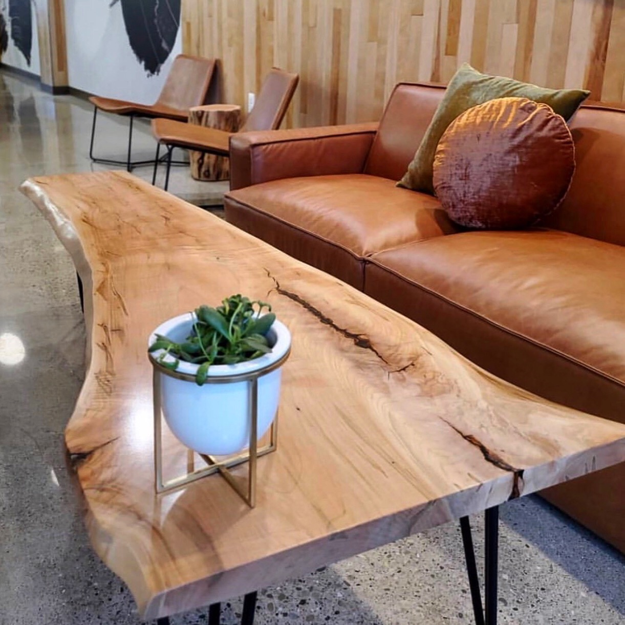 Live Edge Dining Room Tables And Kitchen Tables Long White Beard Furniture